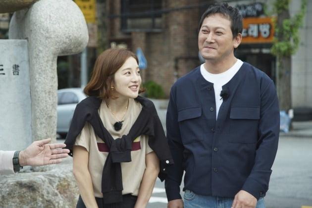 JTBC '한끼줍쇼' 황보라, 연인 차현우 언급 /사진=JTBC 제공