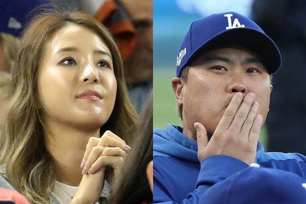 류현진 아빠된다…배지현 임신 6주차 /사진=연합뉴스