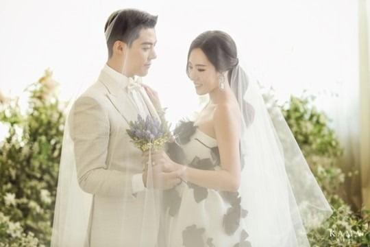 강남 이상화 결혼 /사진=카마 스튜디오 제공