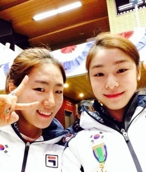 김연아 이상화 /사진=대한체육회 SNS