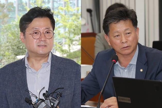 더불어민주당 홍익표 수석대변인, 자유한국당 김명연 수석대변인 /사진=연합뉴스