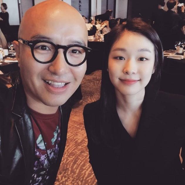 강남 이상화 결혼식, 홍석천 김연아 /사진=홍석천 SNS