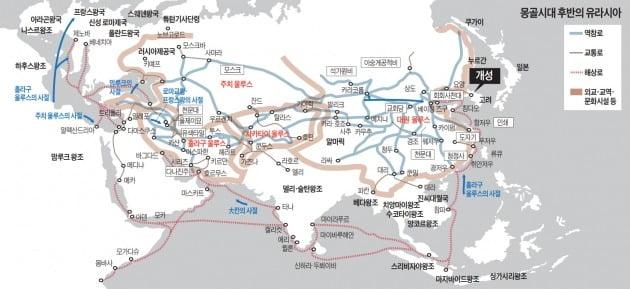 고려는 오랜 항쟁 끝에 몽골에 항복한 이후 큰 변화…13세기말 '대몽골 울루스'에 편입돼 세계와 교역