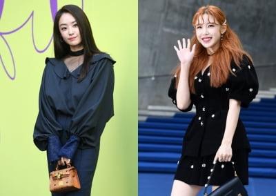 """""""It's 시크릿 타임"""" 전효성·송지은 만남 현장"""