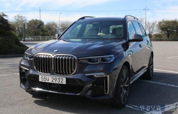 BMW 플래그십 SUV X7. 사진=오세성 한경닷컴 기자