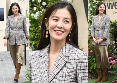 김성은, 임신 7개월에도 변함없는 미모