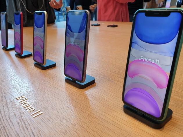 신형 아이폰11의 모습(사진=한경닷컴)