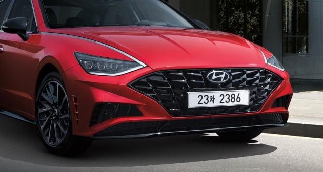 현대자동차가 쏘나타 1.6 터보 모델의 펫네임을 '쏘나타 센슈어스(SONATA Sensuous)'로 정하고 본격적인 판매에 돌입한다고 20일 밝혔다. 2019.9.20 [사진=현대자동차]