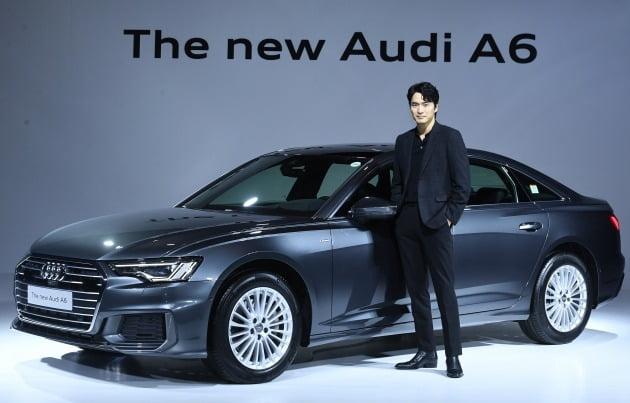 아우디코리아는 23일 오전 서울 장충동 반얀트리 클럽 앤 스파 클리스탈 볼룸에서 '더 뉴 아우디 A6 45 TFSI 콰트로(The New Audi A6 TFSI quattro)' 신차발표회를 갖고 공식 출시했다. [사진=변성현 한경닷컴 기자]