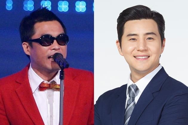 김건모와 그의 예비신부의 오빠인 배우 장희웅씨 /사진=한경DB, 하이씨씨 홈페이지