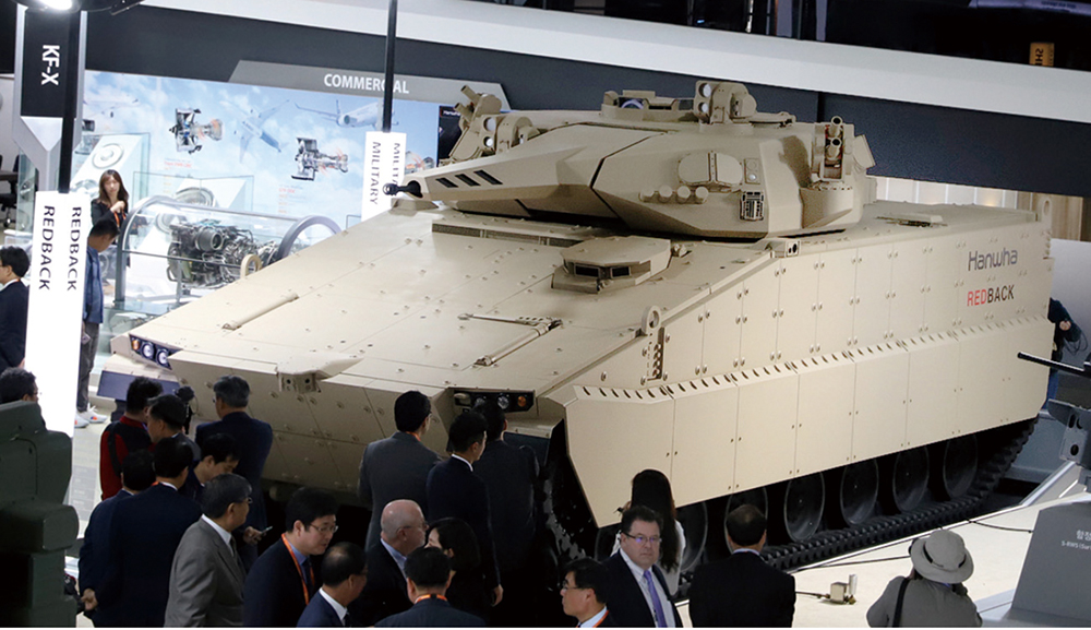최첨단 무기로 해외시장 공략하는 한국 방위산업