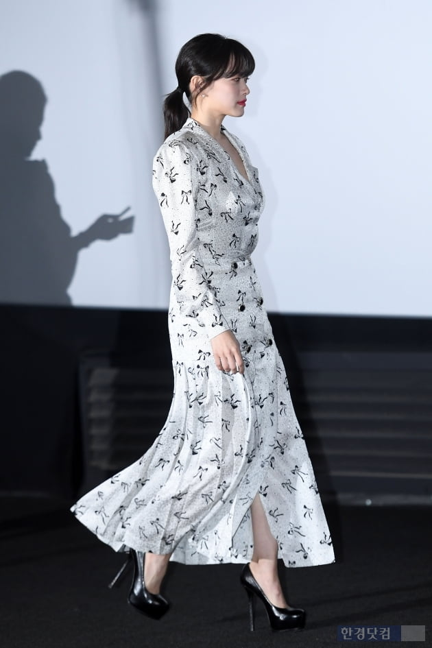 [포토] 천우희, '샤랄라 원피스 입고'