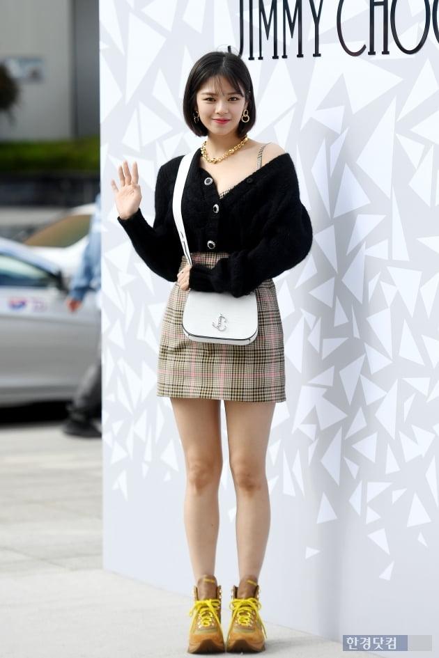 [포토] 트와이스 정연, '예쁨 한도 초과'