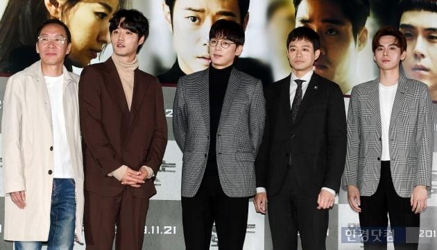 [포토] 영화 '얼굴없는 보스' 대박 기원하며
