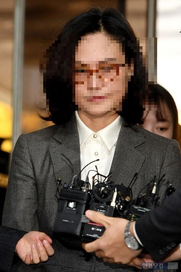 정경심 동양대 교수/사진=최혁 기자