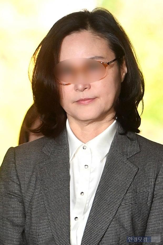 [포토] 피의자 심문 출석하는 정경심 교수
