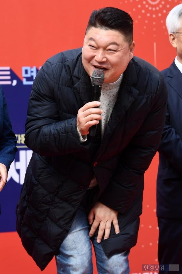 [포토] 강호동, '사람 좋은 미소~'