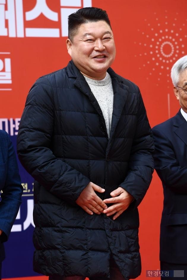 [포토] 강호동, '쑥스러운 미소~'