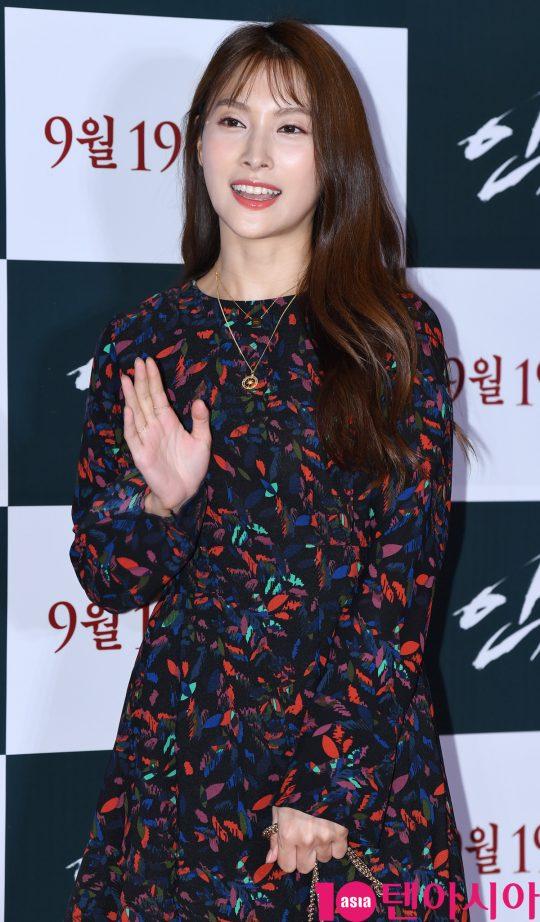 카라 출신 배우 박규리. /텐아시아DB