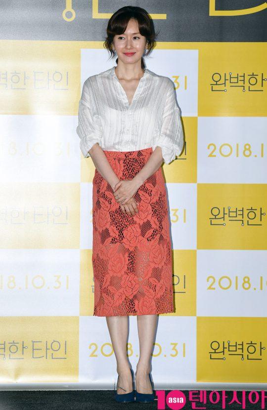 배우 김지수. /텐아시아DB
