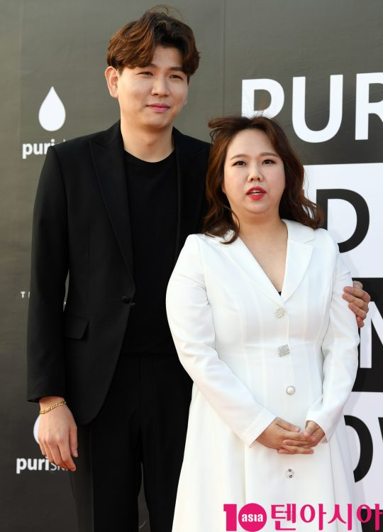 제이쓴 홍현희 부부./ 사진=텐아시아DB