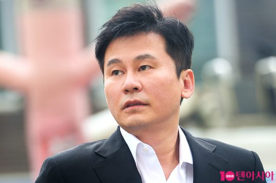양현석 전 YG엔터테인먼트 총괄 프로듀서./ 텐아시아 DB
