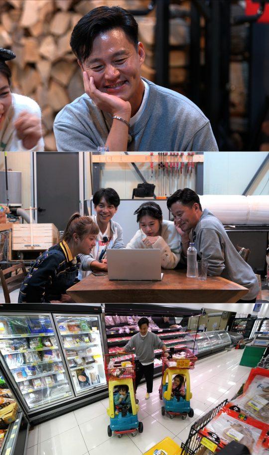 SBS 월화 예능 '리틀 포레스트 : 찍박골의 여름' 스틸컷. /사진제공=SBS