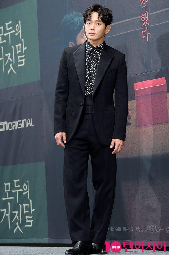 """배우 온주완이 OCN 토일 오리지널 '모두의 거짓말'의 관전 포인트를 묻자 """"모두를 의심하라""""라고 말했다./ 서예진 기자 yejin@"""