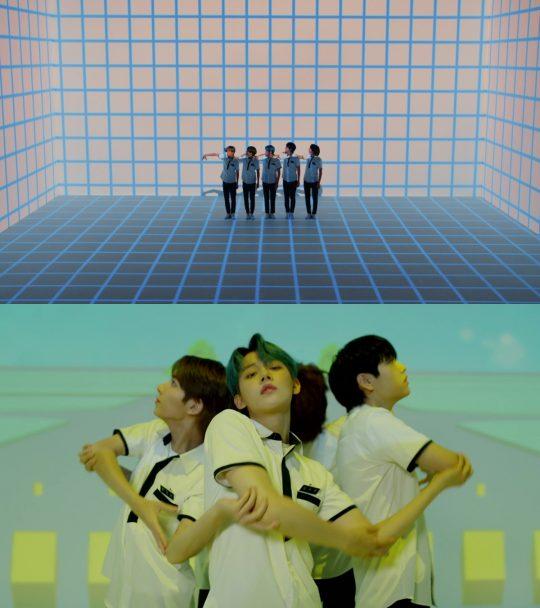 그룹 투모로우바이투게더의 '꿈의 장: MAGIC' 콘셉트 트레일러 / 사진제공=빅히트엔터테인먼트