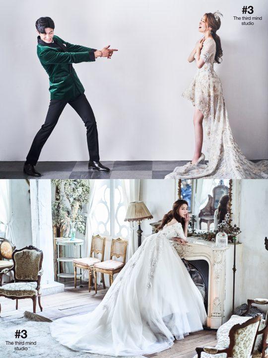 그룹 티아라 출신 한아름 결혼 화보 / 사진제공=해피메리드컴퍼니