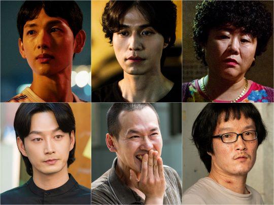 '타인은 지옥이다' 임시완, 이정은, 이현욱, 박종환, 이중옥 / 사진제공=OCN