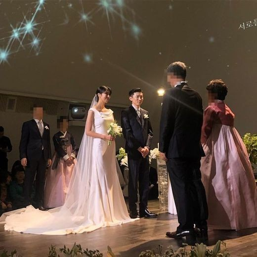 가수 프라이머리, 모델 남보라 결혼식 / 사진=배정남 SNS