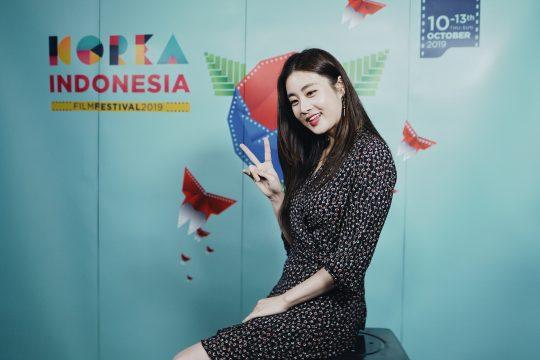 '제10회 한국-인도네시아 영화제' 홍보대사 배우 강소라. /사진제공=CJ CGV