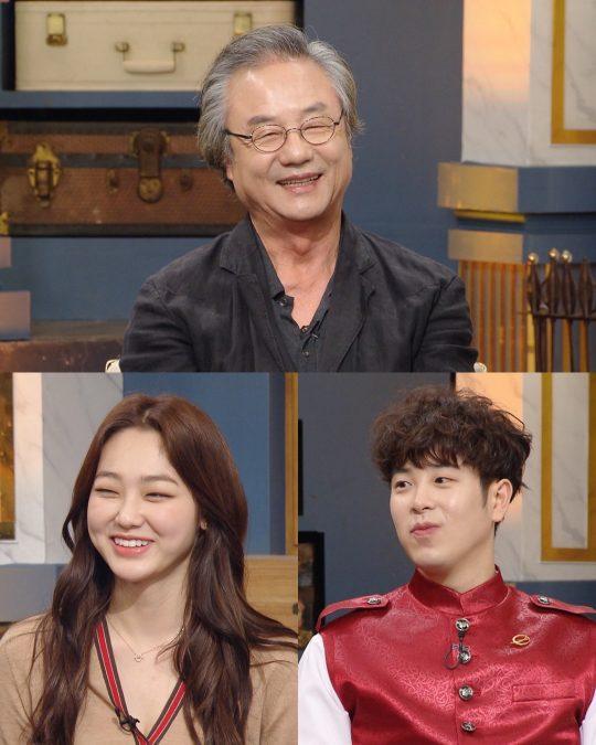 '해피투게더4' 정동환, 미나 / 사진제공=KBS