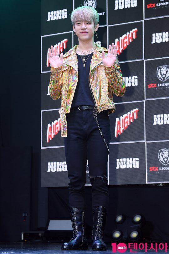 그룹 B.A.P 출신 가수 정대현이 10일 오전 서울 서교동 홍대 무브홀에서 첫 번째 싱글앨범 '아잇(Aight)' 발매 기념 쇼케이스를 개최했다. / 이승현 기자 lsh87@