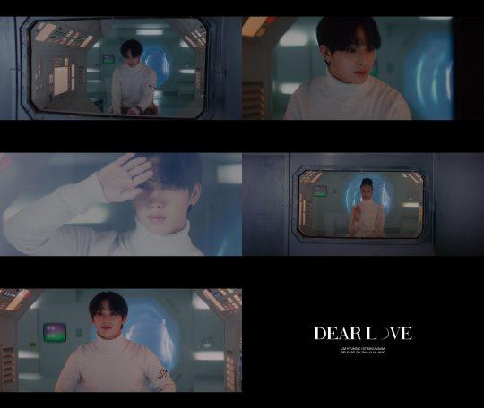 그룹 비투비의 임현식의 '디어 러브' 뮤직비디오 예고편. / 제공=큐브엔터테인먼트