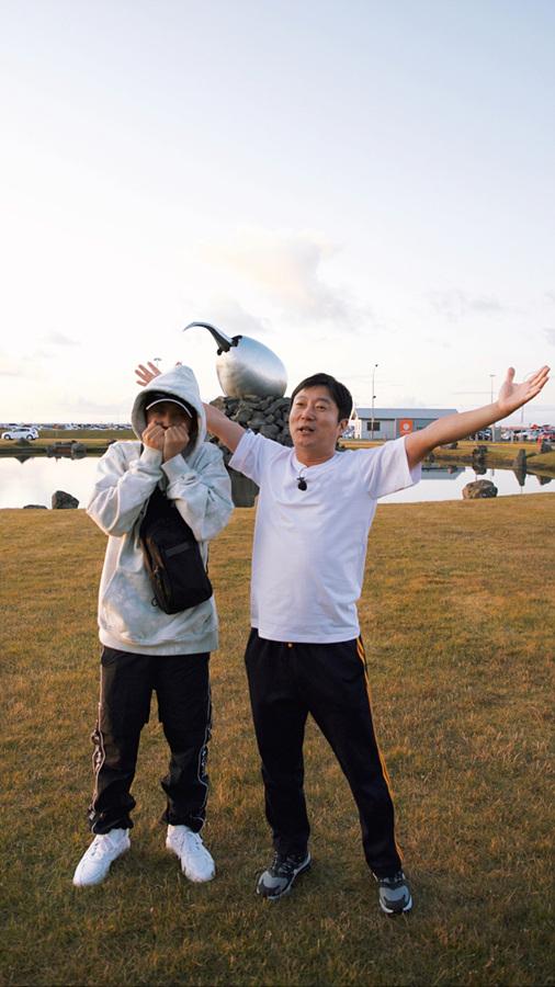 '아이슬란드 간 세끼'의 은지원(왼쪽), 이수근./사진제공=tvN