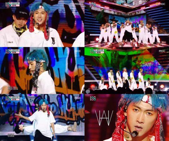 MBC '쇼! 음악중심' 방송화면. /사진제공=MBC