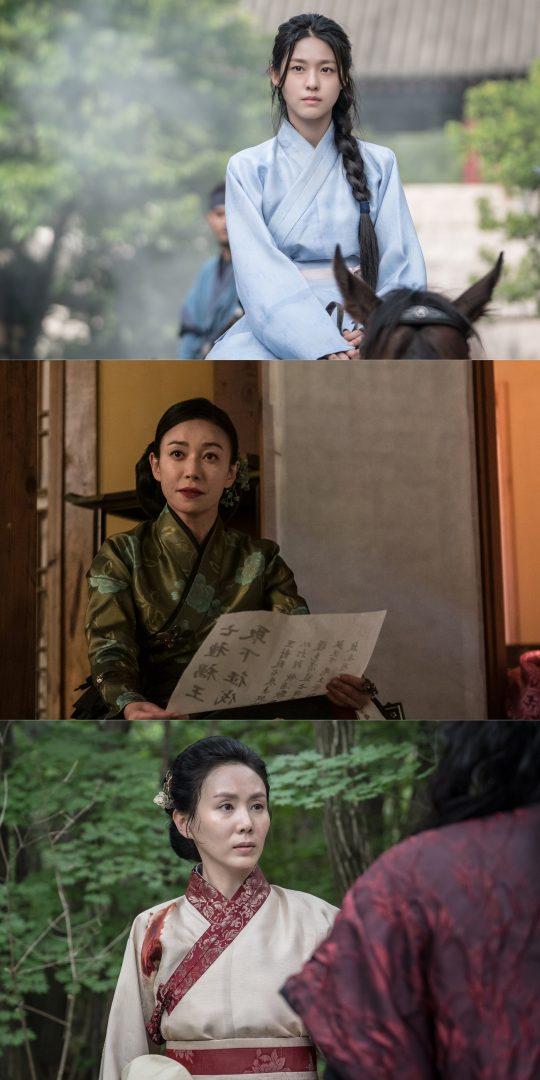 '나의 나라' 설현(위부터), 장영남, 박예진. /사진제공=셀트리온엔터테인먼트