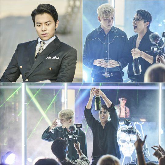 '레버리지' 여회현(두 번째 사진 왼쪽), 박은석. /사진제공=TV CHOSUN'레버리지'