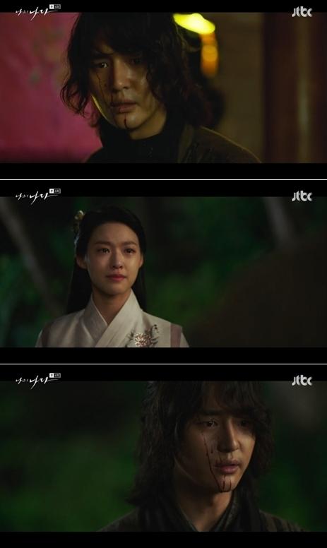 사진=JTBC '나의 나라' 방송 화면 캡처