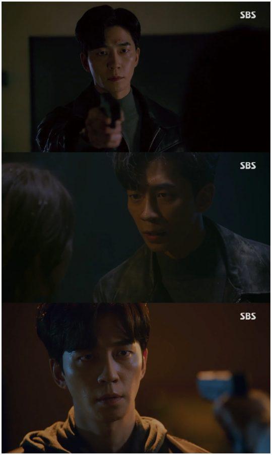 '배가본드' 신성록. /사진=SBS 방송 캡처