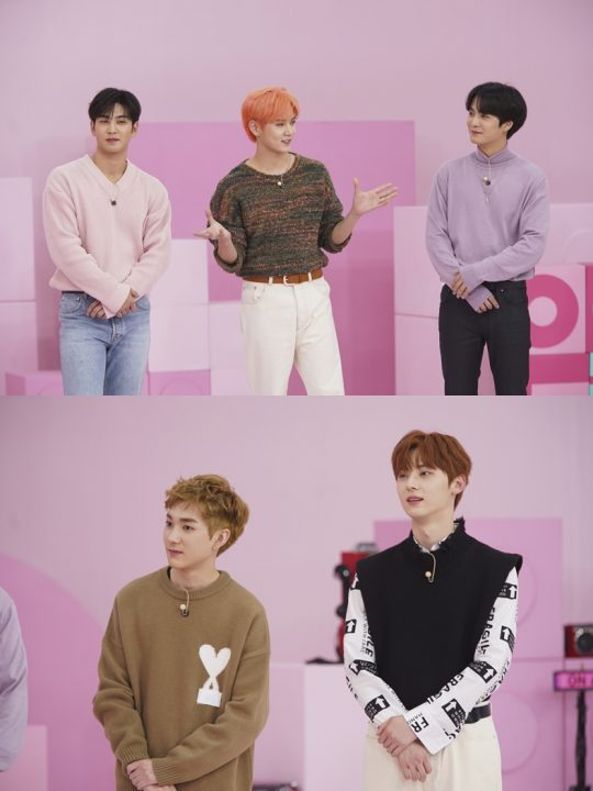 '아이돌룸'에 출연한 그룹 뉴이스트./사진제공=JTBC