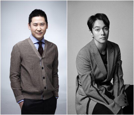 방송인 신동엽(왼쪽), 배우 이규한./사진=각 소속사 제공