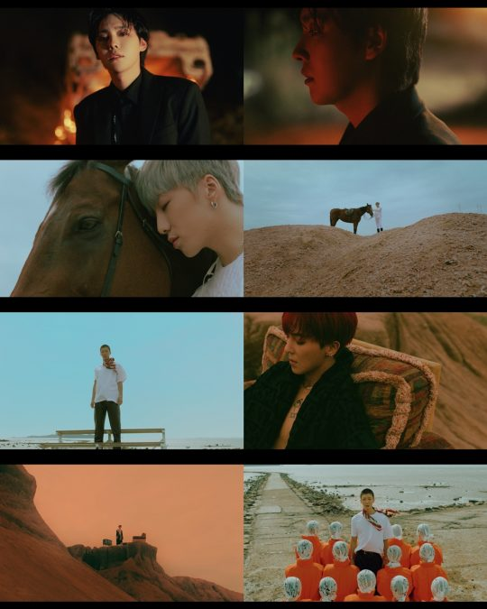 그룹 위너의 'SOSO' 뮤직비디오 티저 이미지/ 사진제공=YG엔터테인먼트