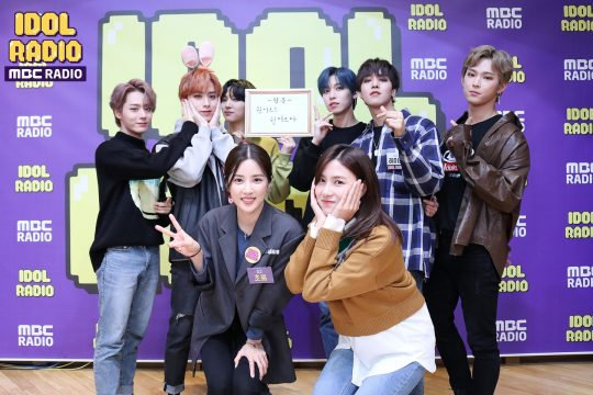 '아이돌 라디오'의 출연한 그룹 원어스./사진제공=MBC라디오