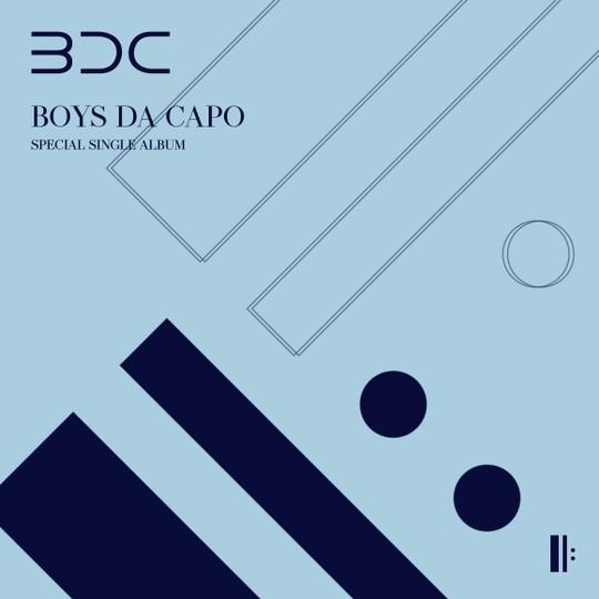 BDC, 스페셜 싱글 앨범 BOYS DA CAPO 커버 공개 (사진=브랜뉴뮤직)