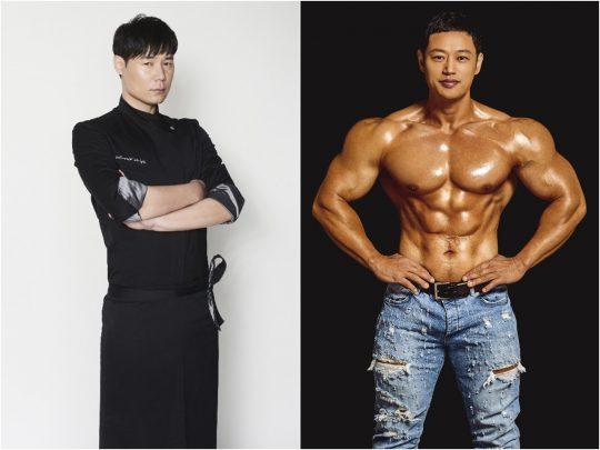 최현석 셰프(왼쪽)과 양치승 트레이너 /사진제공= KBS2