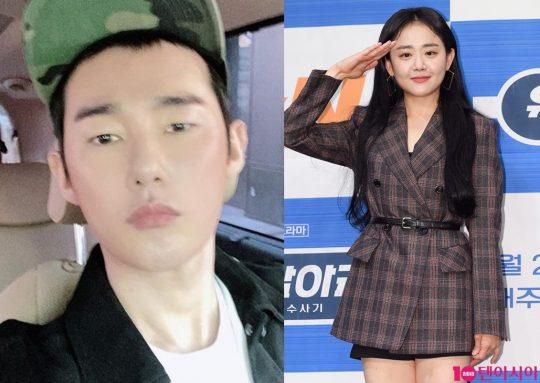 방송인 겸 작가 허지웅(왼쪽)과 배우 문근영./사진=허지웅 인스타그램, 텐아시아DB