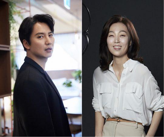 배우 김남길(왼쪽), 김현정 PD./사진제공=tvN '김현정의 쎈터:뷰'
